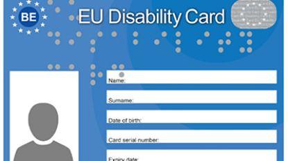 Europese kaart moet personen met beperking meer kansen op kortingen geven