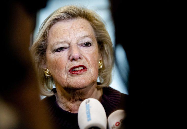 Staatssecretaris Ankie Broekers-Knol van Justitie en Veiligheid  Beeld ANP