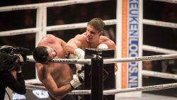 """Kickbokskampioen Verhoeven mept Ben Saddik tegen het canvas: """"Had nog appeltje met hem te schillen"""""""