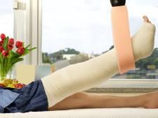 Schroef of plaat uit je been? Antibiotica helpen geen fluit