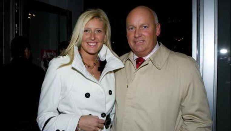Ignace Crombé en zijn vriendin Patricia.