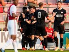 Jong PSV bezorgt Jong Ajax derde nederlaag op rij