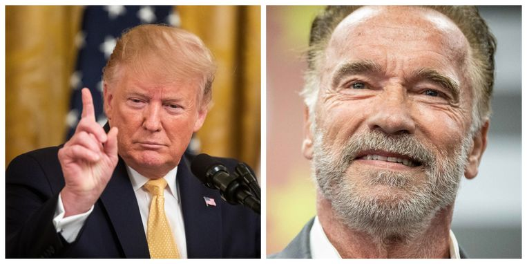 Donald Trump verklaarde Arnold Schwarzenegger dood