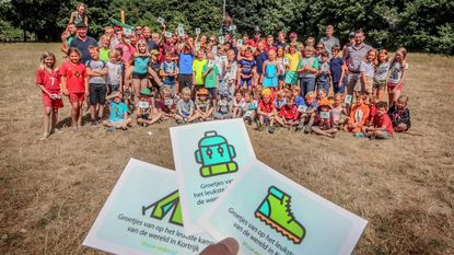 Nieuw: Warande-postkaart voor thuisfront