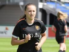 Voetbalster Moïsa van Koot gaat niet voor de lol naar het EK