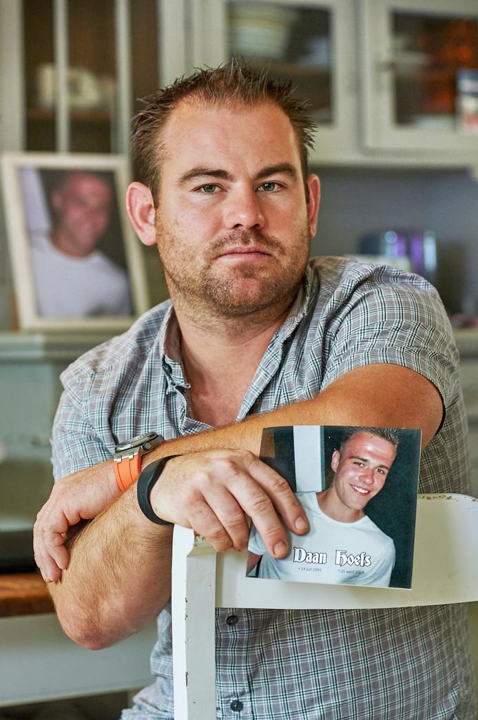 Thijs Hoefs, broer van de vorig jaar vermoorde Daan Hoefs uit Erp.