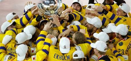 Zweden verslaat Zwitserland in spannende finale WK ijshockey