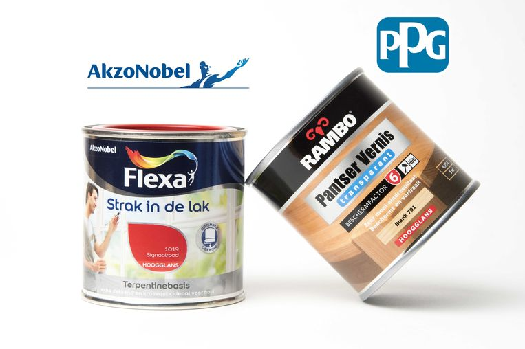 Overnamestrijd rond AkzoNobel. De Amerikaanse rivaal PPG Industries wil het Nederlandse verf- en chemieconcern al dan niet gedwongen overnemen. Beeld anp