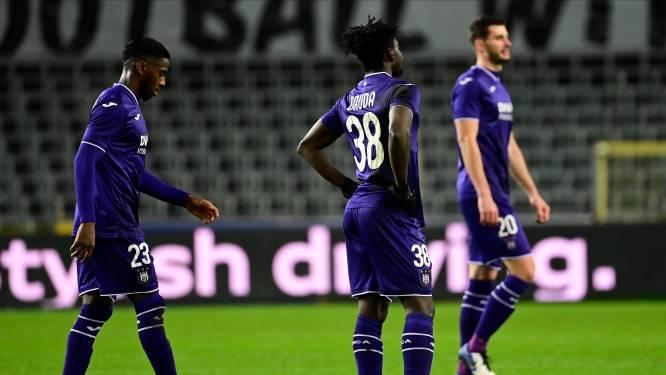 Negatieve primeur: Anderlecht scoort niet in drie van de eerste vier matchen van het jaar