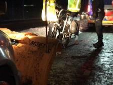 Fietser gewond na botsing met sneeuwschuiver in Deurningen
