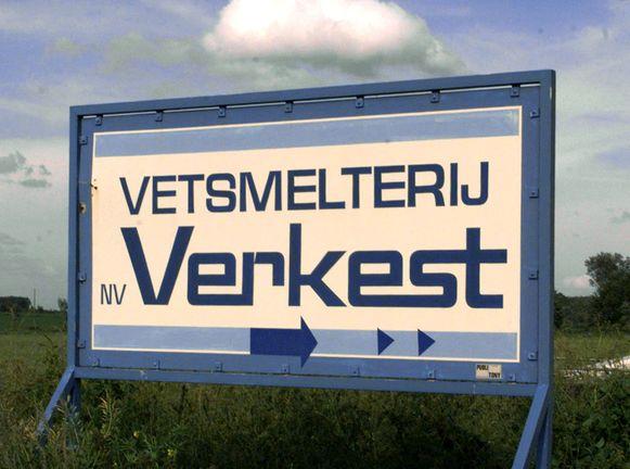 Het vroegere bedrijf Verkest.