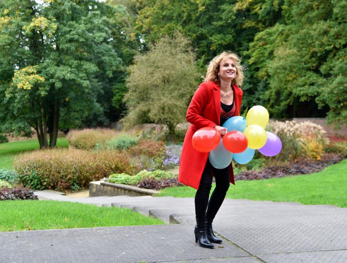 Karin Terwisse organiseert voor de tiende keer het Sprookjesfestival in Arnhem.