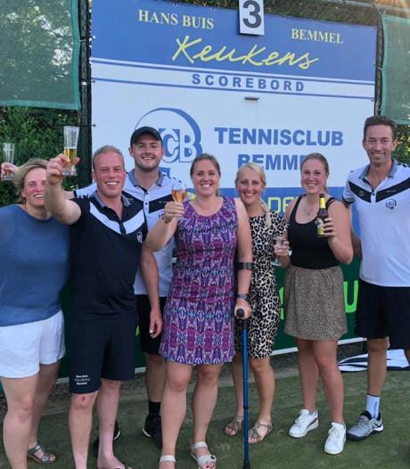 Toch feest bij TC Bemmel: kampioen op de laatste speeldag