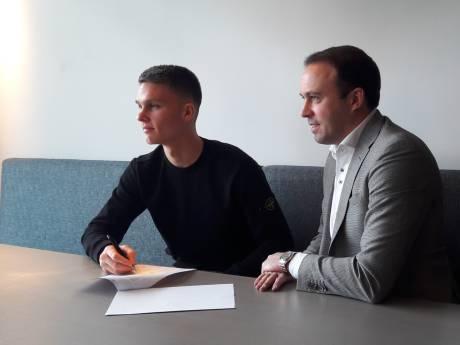 Keeper Connor van den Berg krijgt contract bij Willem II