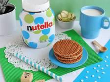 Nutella komt met 'unieke' verpakking: 650.000 verschillende potten