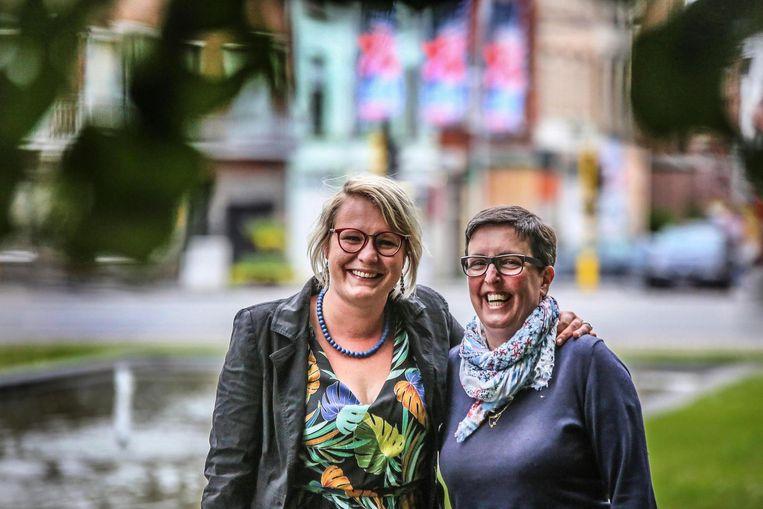 Bekende Overleienaars Shary Vancauwenberghe en Kathleen Dhaenens staan op de lijst van N-VA.