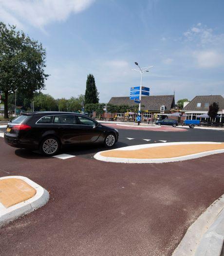 Terras bij Harwig in Den Ham door nieuwe rotonde een attractie rijker: 'Dat is wél de grote winst'