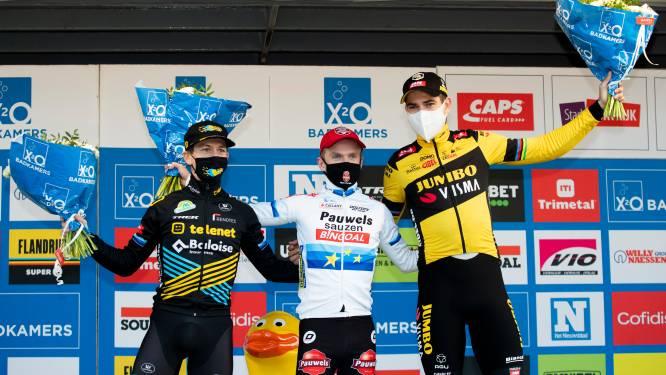 """Iserbyt wint in z'n achtertuin, Van Aert meteen op het podium bij rentree in het veld: """"Ik had hier op voorhand voor getekend"""""""