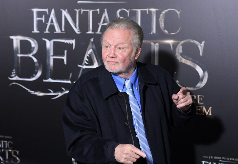 Jon Voight tijdens de première van de film in New York op 10 november. Beeld null