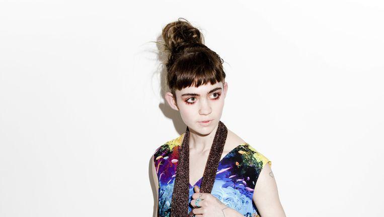 Grimes (Claire Boucher): `Ik ben nog geen Madonna, hoor.' Beeld Valentina Vos
