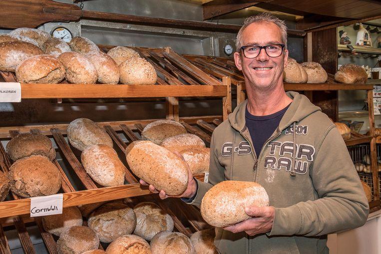 Bakker Patrick Desmet verkoopt binnenkort zijn laatste broden.