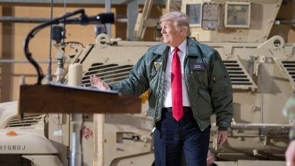 """Terugtrekking van troepen uit Syrië zal traag verlopen, bevestigt geïrriteerde Trump: """"Als iemand anders deed wat ik doe in Syrië, was hij een nationale held"""""""