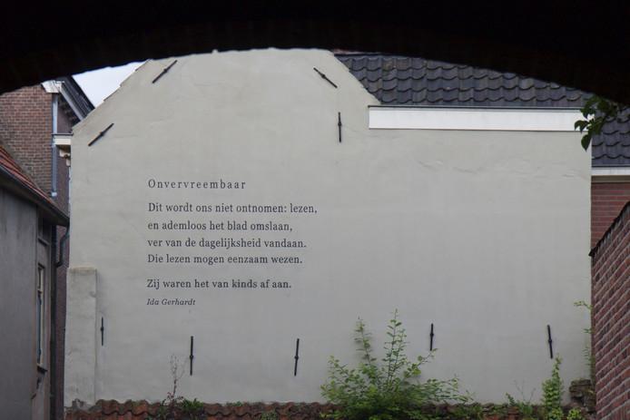 De fout op de muur in Zutphen