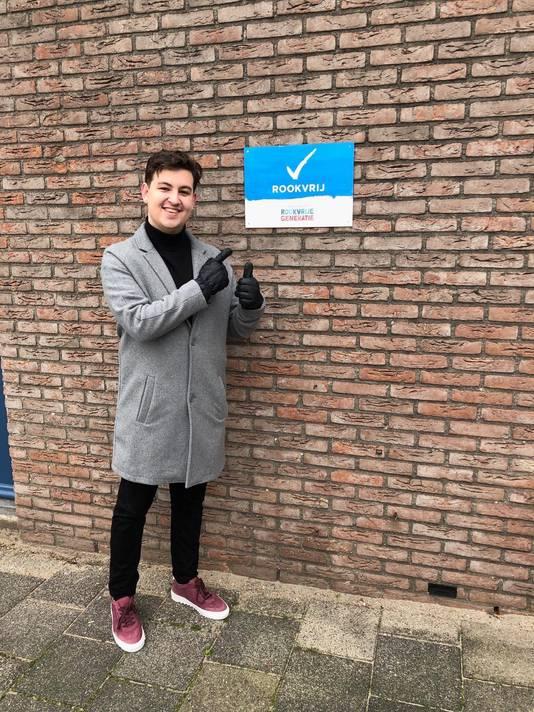 Zinho Schelkers, raadslid D66 Capelle aan den IJssel.