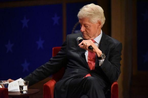 De voormalige Amerikaanse president Bill Clinton