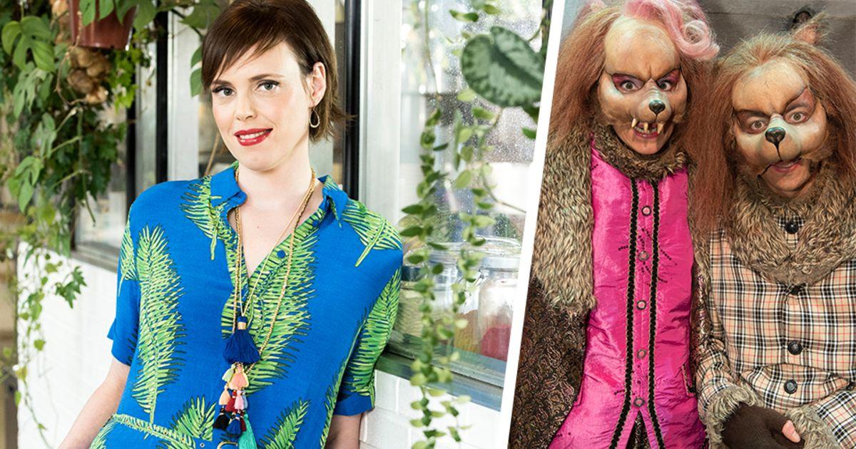 "Super Liesa Naert maakt haar musicaldebuut als wolf in 'Roodkapje': ""Of AF-55"