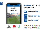 Direct (en gratis) de goals van PSV zien? Activeer Goal Alert via de ED-app!