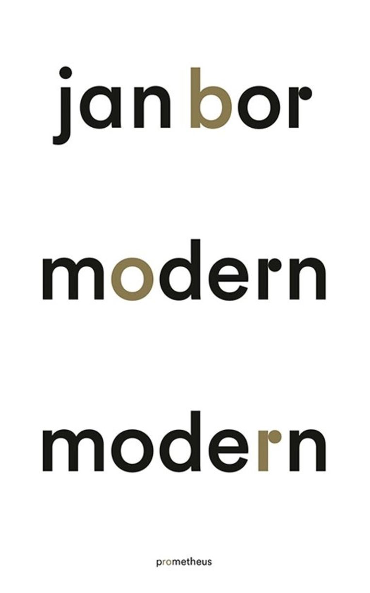 Cover Jan Bor - Modern Modern Beeld X