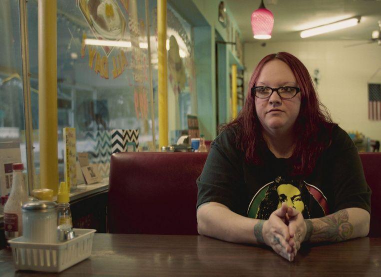 Beeld uit Exit: Angela King van Life After Hate. Beeld *