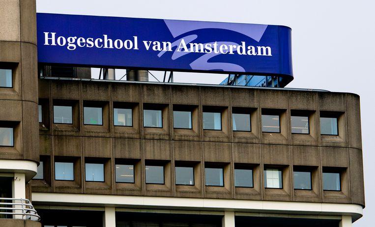 Het Amfi is onderdeel van de Hogeschool van Amsterdam. Beeld ANP