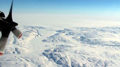 Gigantische krater ontdekt onder ijskap Groenland
