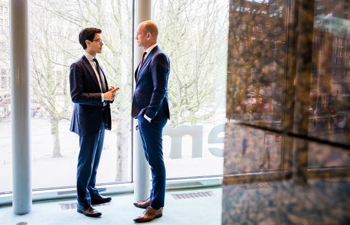 Rob Jetten (D66) en Gert-Jan Segers (ChristenUnie).