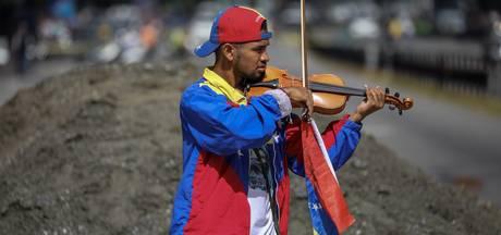 Venezolaanse vioolactivist gewond geraakt tijdens rellen