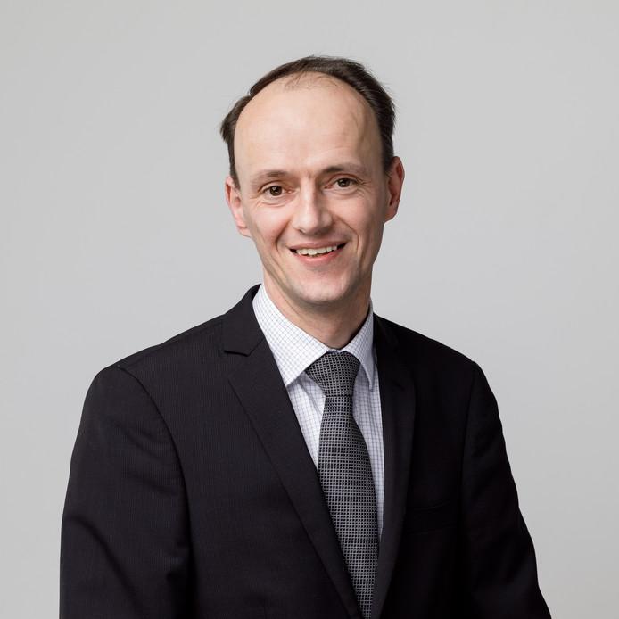 SGP-Fractievoorzitter Adriaan van der Wulp.
