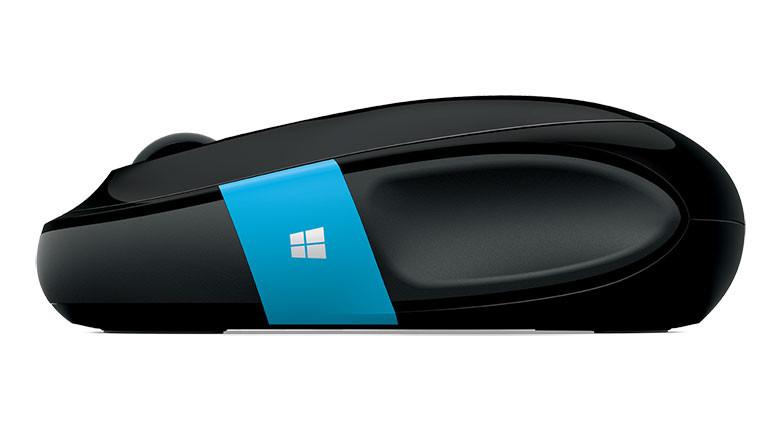 Een muis uit Microsofts 'Sculpt'-gamma.