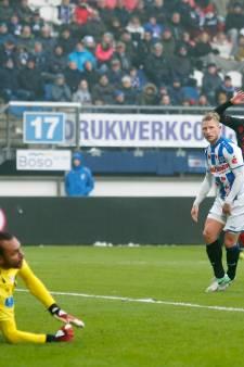 Heerenveen komt achterstand niet meer te boven tegen Utrecht