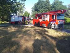 Opnieuw brand bij leegstaande woning aan Spoorstraat Doetinchem