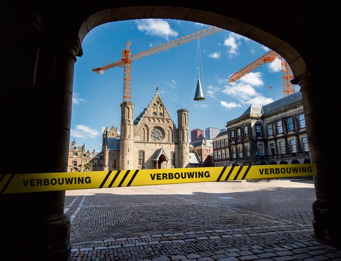 De renovatie van het Binnenhof moet eind 2020 beginnen en kost ongeveer een half miljard euro.