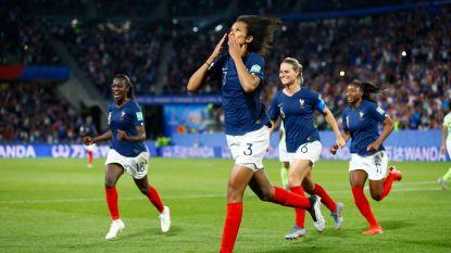 WK vrouwenvoetbal. Frankrijk als groepswinnaar naar achtste finales, VAR eist hoofdrol op