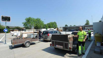 Recyclagepark na zes maanden weer open
