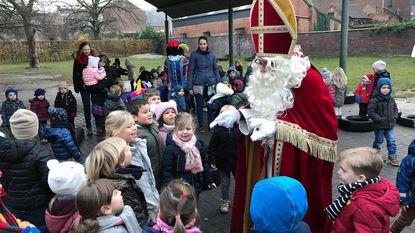 Sinterklaas brengt bezoekje aan De Klimop