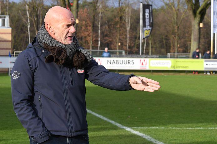 Wil Beijer als coach van Olympia'18.