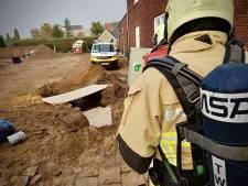 Gas- en waterleiding geraakt bij werkzaamheden in Geesteren