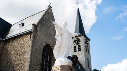 Heilig Hartbeeld in oude glorie hersteld
