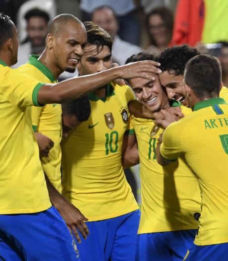 Le Brésil déroule face à la Corée du Sud