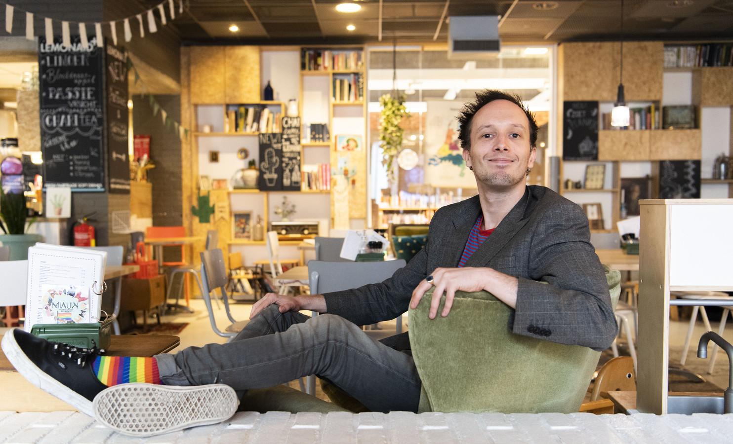"""Jelmer Visser: """"Deze week moet vrolijk en feestelijk worden voor heel Enschede."""""""